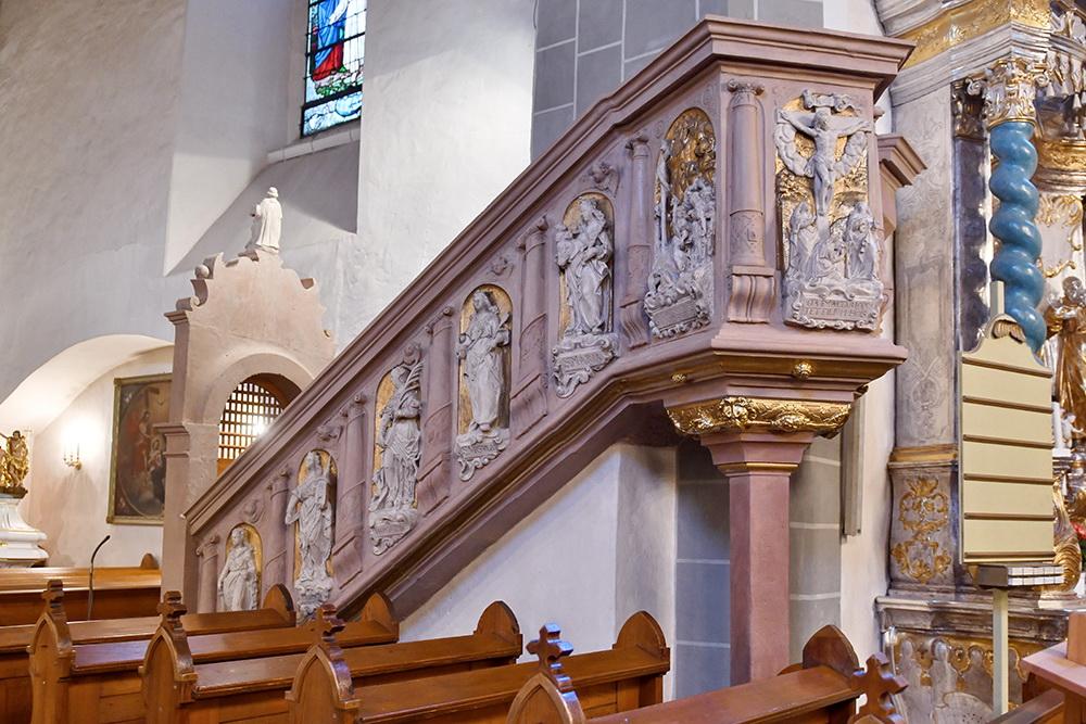 Kirche Ostritz Kanzel
