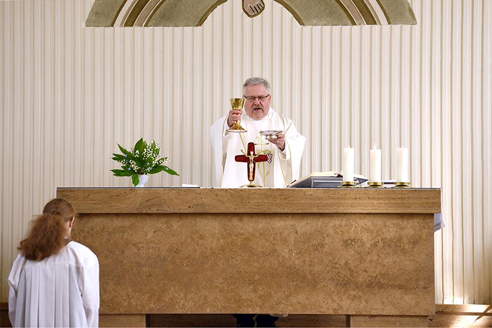 Kirche Herrnhut Altar