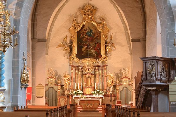 Kirche Ostritz - Hochaltar