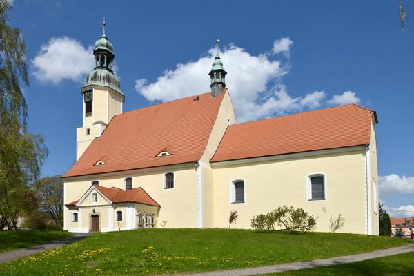 Kirche Ostritz - Außenansicht