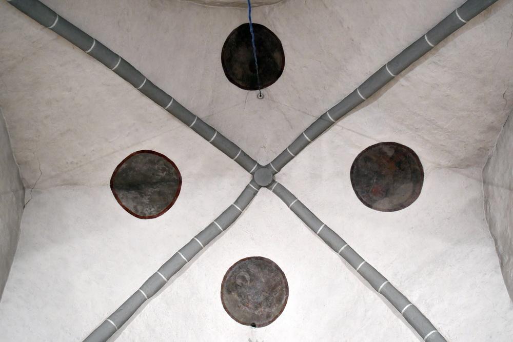 Kirche Ostritz Kreuzrippengewölbe