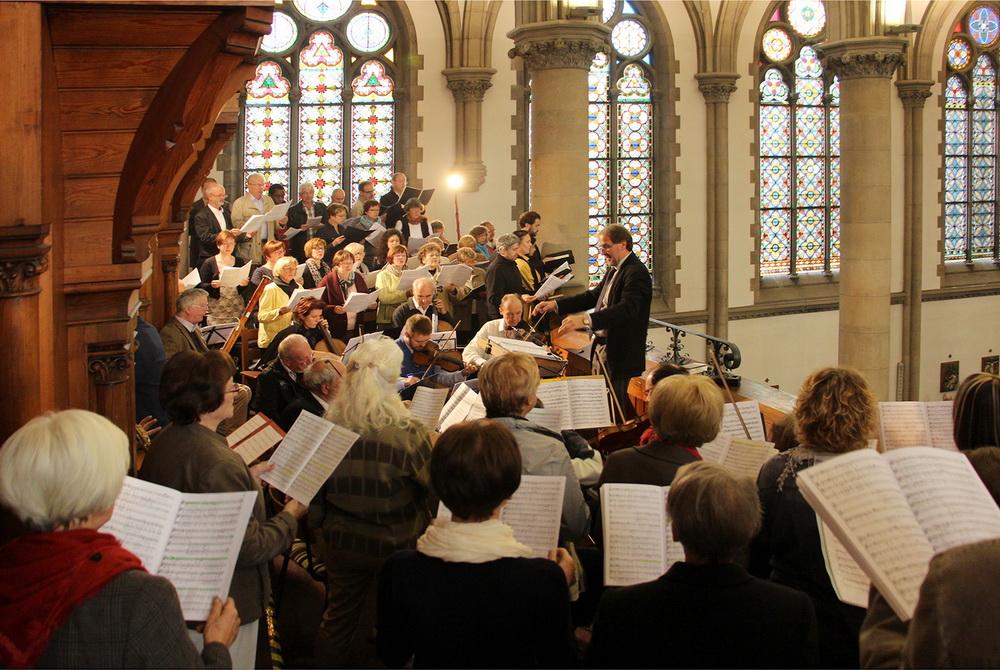 Ein besonderer Höhepunkt: Gestaltung des Festgottesdienstes zum 125. Jubiläum der Kirchweihe in Zittau mit Solisten und Instrumentalisten (2015)