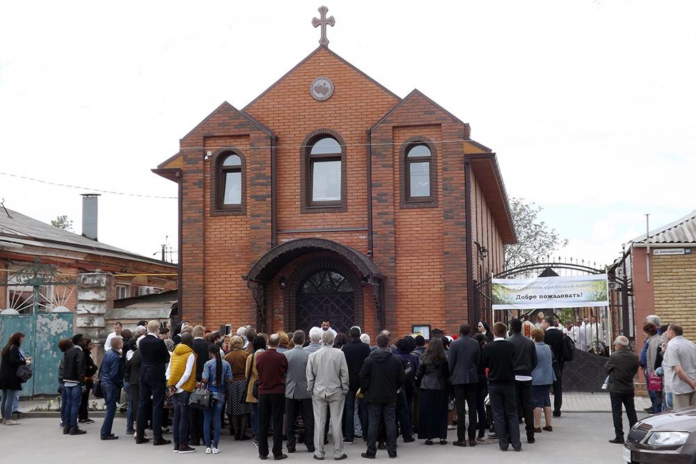 Ökumenischer Gottesdienst in der Weidenkirche