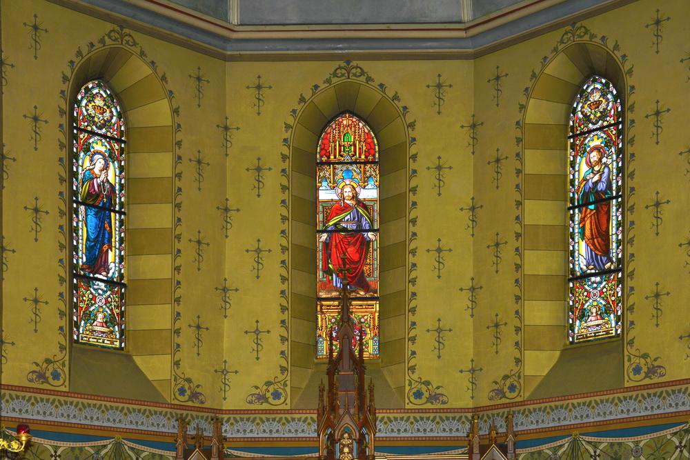 Löbau Kirche Fenster