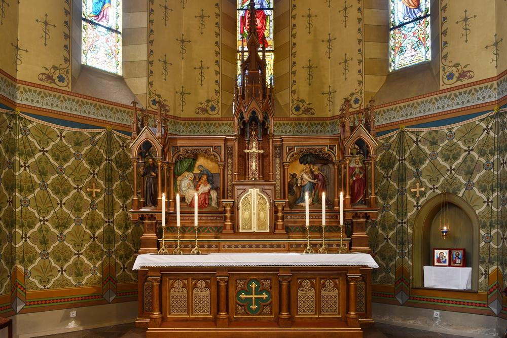 Löbau Kirche Hochaltar