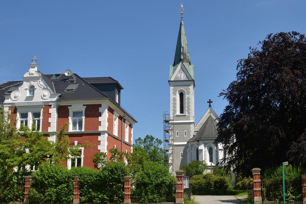 Löbau Kirche Außenansicht