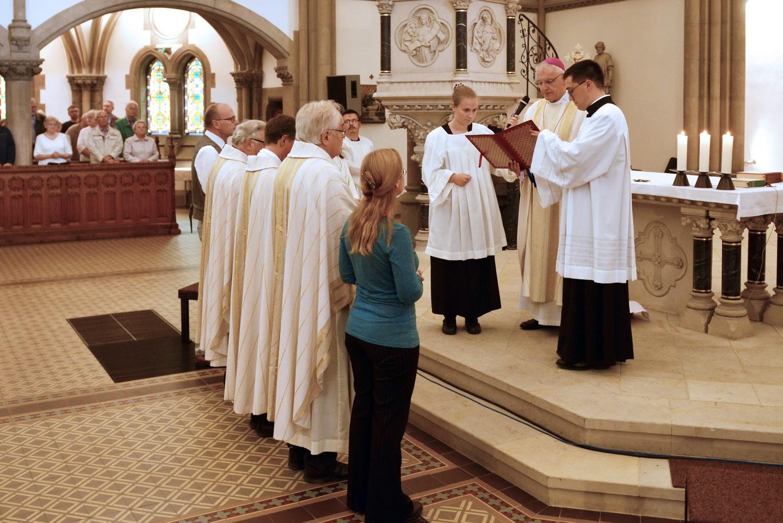 Pfarreigründung - Berufung der pastoralen Mitarbeiter