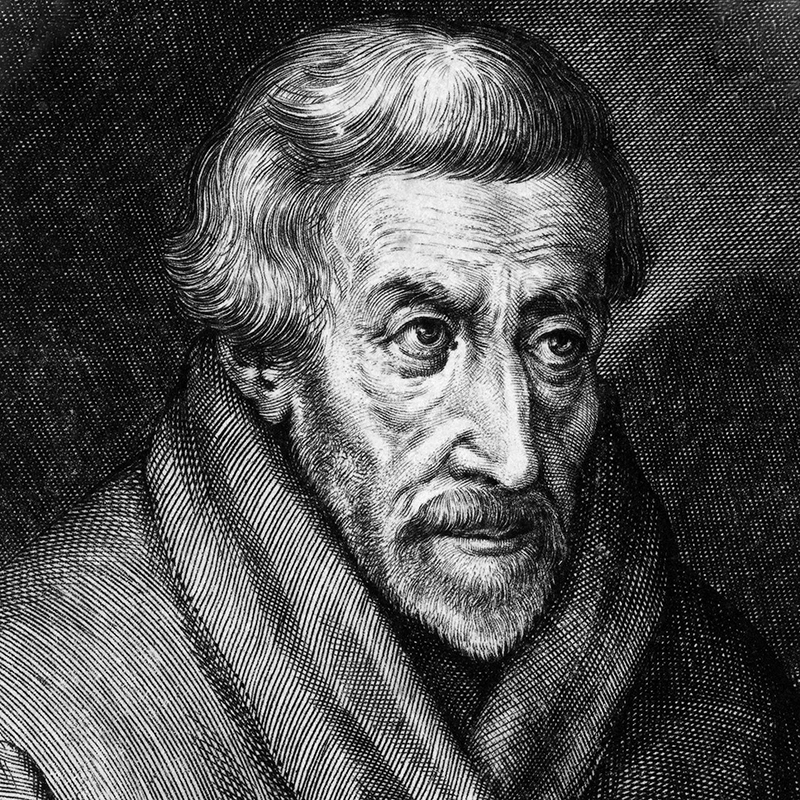 Petrus Canisius – Kupferstich, etwa 1600, Quelle: Wikipedia