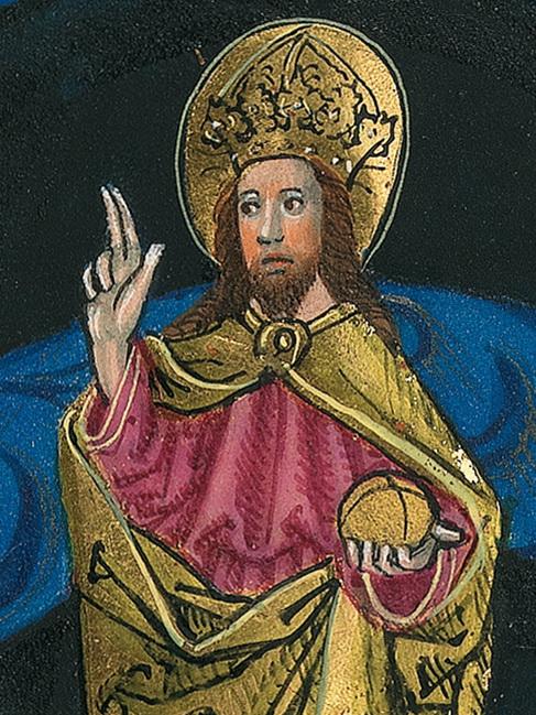 Münchener Furtmeyr-Bibel, Blatt 8va1: Bayrische Staatsbibliothek Lizenz CC BY-NC-SA