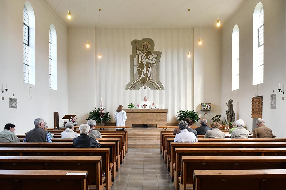 Kirche Herrnhut Innenansicht