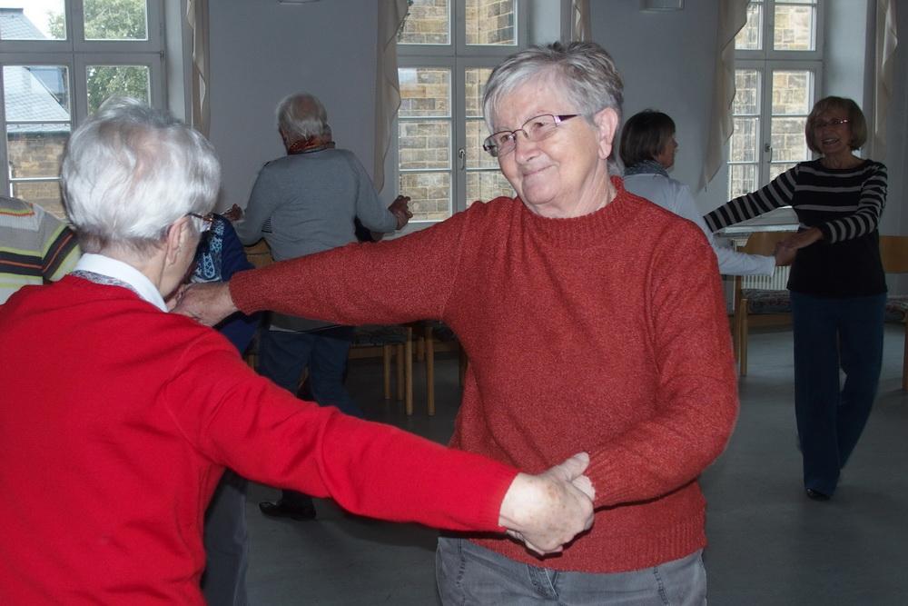 Seniorentanz in der Alten Schule Zittau