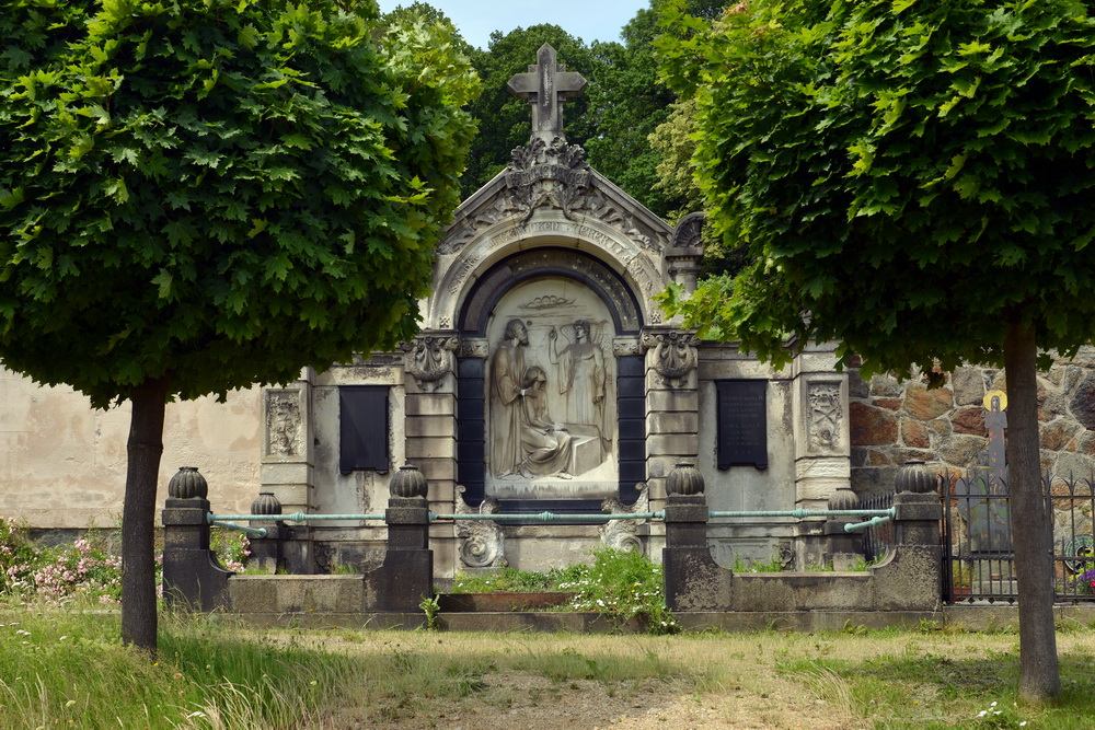 Friedhof Ostritz - Gruft