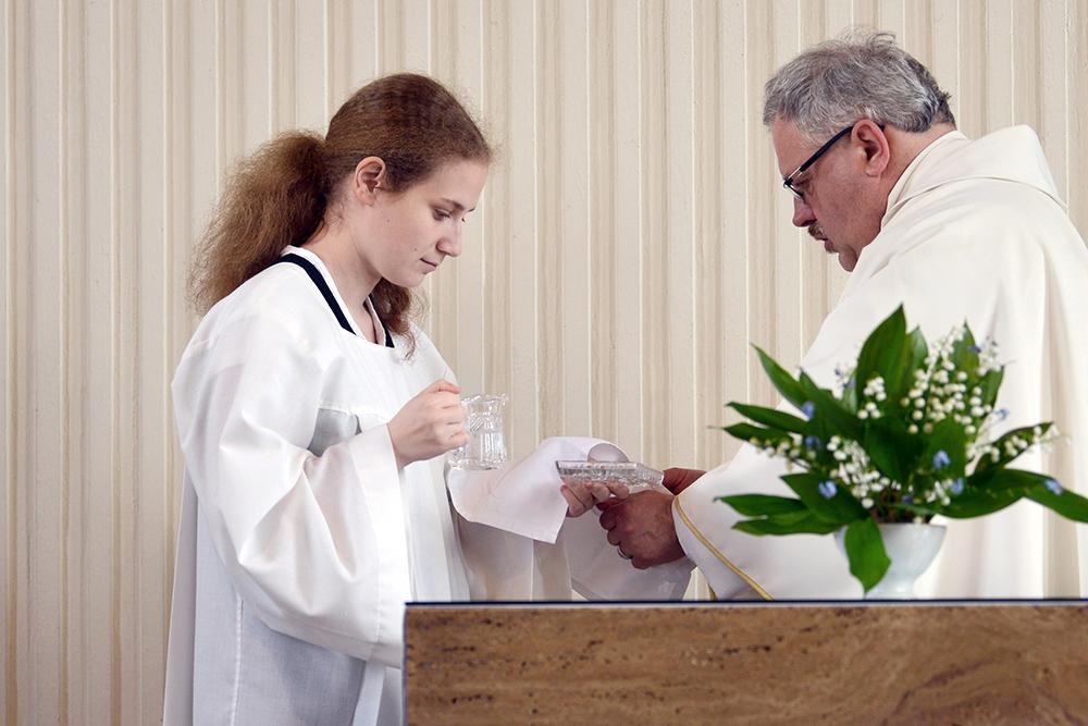 Ministrantendienst - Anne-Christin Mitter