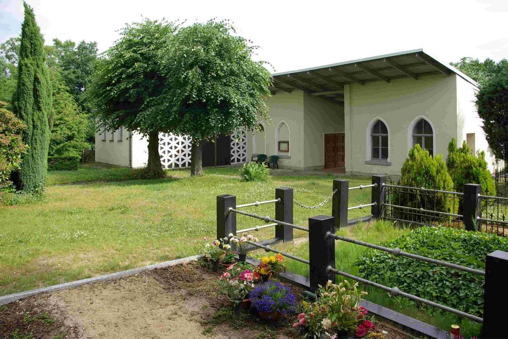 Kath. Friedhof Löbau - Friedhofskapelle