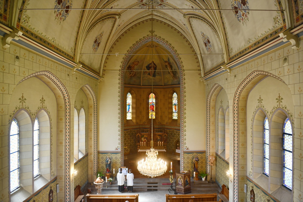 Löbau Kirche Innenraum