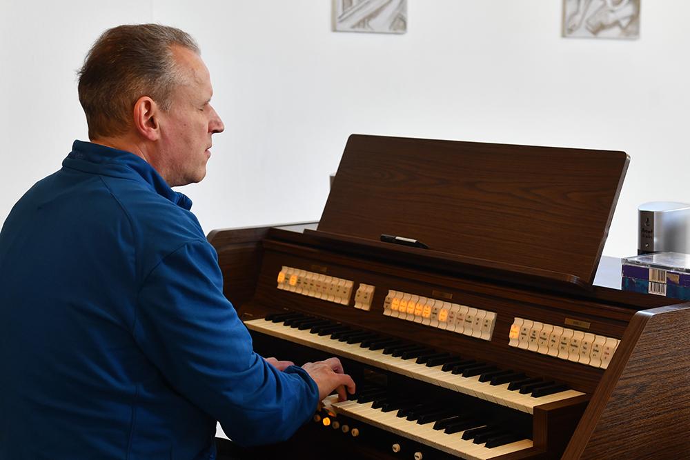 Kantorendienst - Markus Rohmund in Herrnhut
