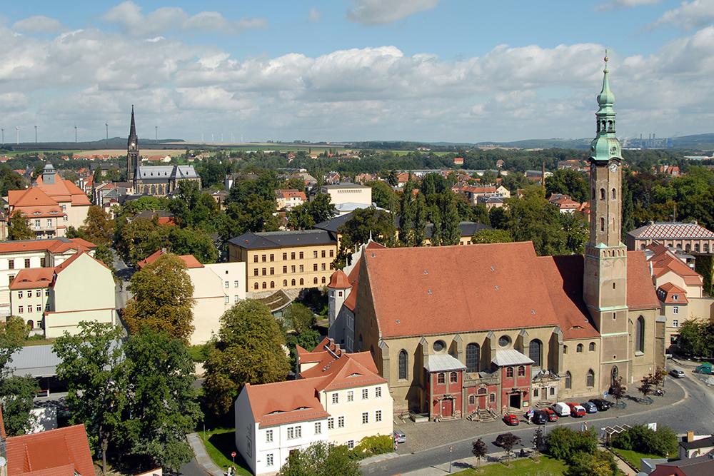 Zittau von der Johanniskirche