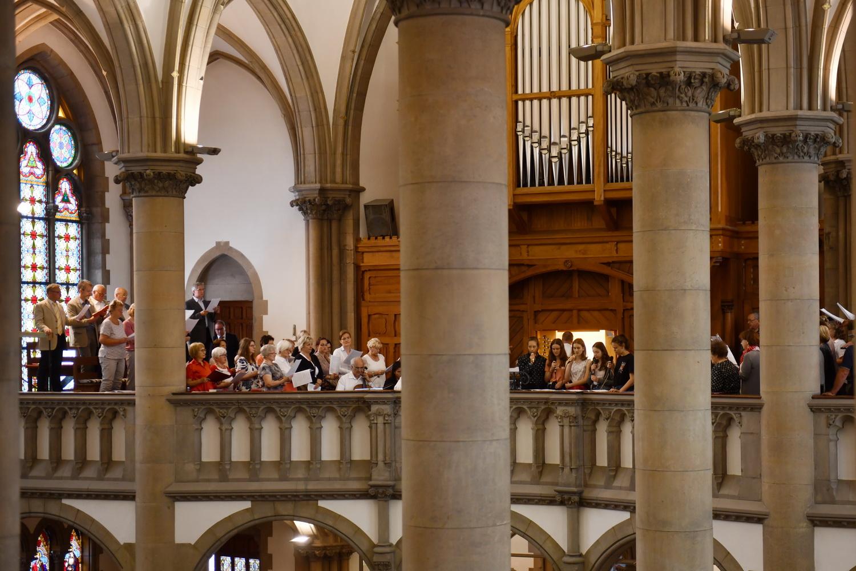 Pfarreigründung - Kirchenchor