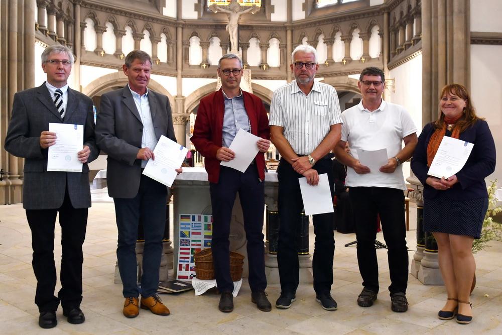 Pfarreigründung - Berufung des neuen Kirchenrats