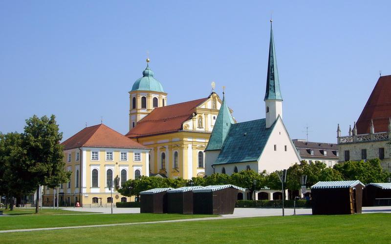Altötting – Kapuzinerkloster und Basilika St. Anna