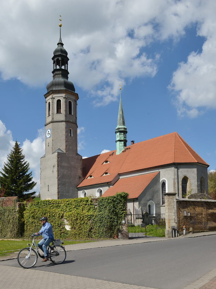 Ehemalige Johanniterkirche in Hirschfelde