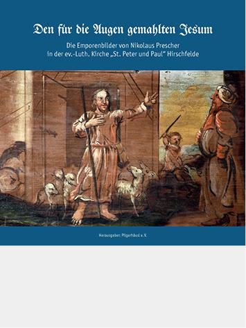 Titelbild des Spiralbuchs über die Hirschfelder Emporenbilder