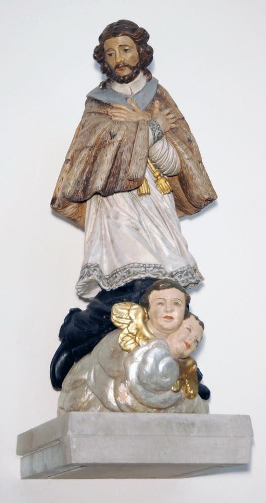 Johannes Nepomuk – Holzfigur in der Zittauer Pfarrkirche