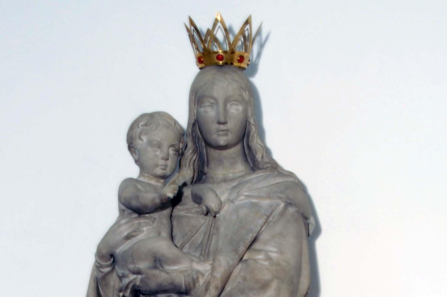 """Maria - Figur in der Kirche """"Mariä Heimsuchung"""", Zittau"""