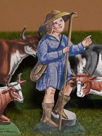 Dromedar mit Esel